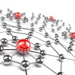 Stock Photo: Networking concept