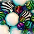 Abstract colored balls — Stock Photo