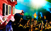 Music live background, — Stock Photo