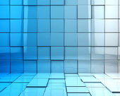3d cubes background — Stock Photo