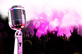 Live music background — Stock Photo