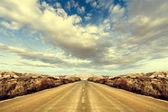 Desert road Trip — Stock Photo