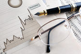 Financial and business — Stock Photo