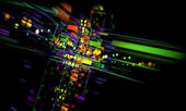 Abstract colorful background.Technology concept — Foto de Stock