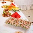 Appetizer on the table — 图库照片