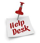 Help desk — Stock Photo