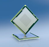 Electronic chip — Stock Photo
