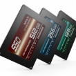 Stock Photo: Solid state drives