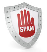 Concept of spam — Stock Photo