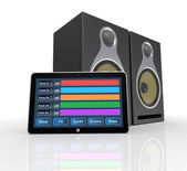 Computer music software — Stockfoto