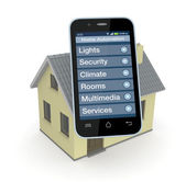 Home automation — Stock Photo