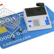 Stock Photo: Shopping with credit card