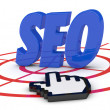 Concept of seo — Stockfoto