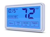 Digital thermostat — Stock Photo