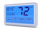 Digital thermostat — Stock Photo