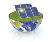 Concept of renewable energy — Stock Photo