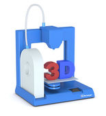 Small 3d printer — Stockfoto