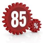 Percent icon — Stock Photo #9820389