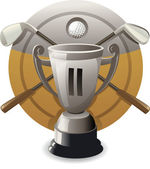 Vector silver award — Stockvektor