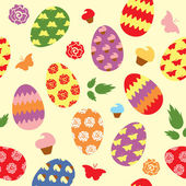 Easter pattern — Stock Photo