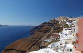 Santorinis unika view, grekland — Stockfoto