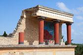 Knossos palace at Crete, Greece. — Stock Photo