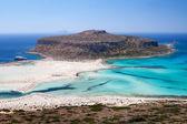 Lagoon Balos, Gramvousa, Crete, Greece — Stock Photo