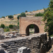 The Praetorium, Gortyna ruins. Crete. Greece. — Stock Photo