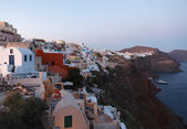 Santorini Island View akşam — Stok fotoğraf