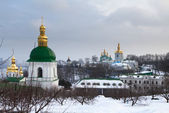 View of Kiev Pechersk Lavra. Kiev. Ukraine. — Stock Photo