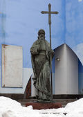 The sculpture of the Vladimir. Kiev — Stock Photo