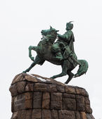 Monument to Hetman Bogdan Khmelnitsky. Kiev — Stock Photo