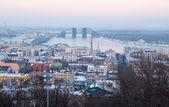 Kiev panorama — Stock Photo
