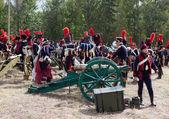 BORODINO, Battle, Moscow Region, Russia — Stock Photo