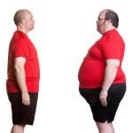 Weight Loss Success — Stock Photo