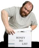 Honey Do List — Stock Photo