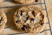 Oatmeal Raisin Cookies — Stock Photo