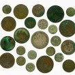 Set of old Russian coins. Reverse — Stock Photo #4491516