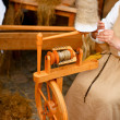 Spinning wheel — Stock Photo #12697938