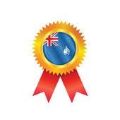 флаг медаль южной георгии — Cтоковый вектор