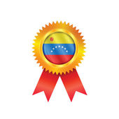 Venezuela medal flag — Stock Vector