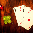 Gambling items — Stock Photo