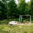 Playground in the nature — Foto de Stock