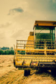 Close-up photo of a harvester — Stock Photo