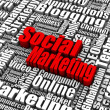 Foto de Stock  : Social Marketing
