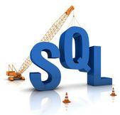 SQL Coding — Stock Photo