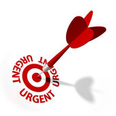 Urgent Target — Stock Photo