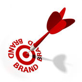 Brand Target — Stock Photo