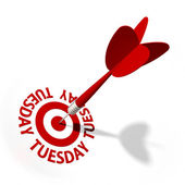 Tuesday Target — Stock Photo