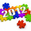 Year 2012 - Stock Photo